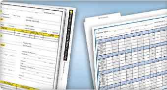 Employee Record Folders