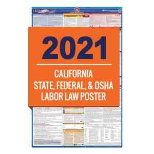 California & Federal Labor Law Posters