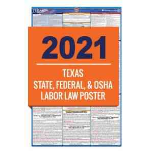 Texas Labor Law Poster