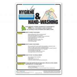Food Safety: Hygiene and Hand Washing Poster