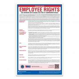 Notice to Workers with Disabilities / Special Minimum Wage Poster