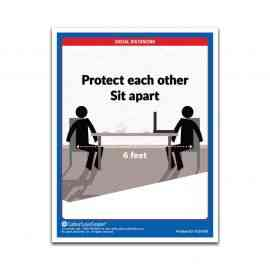 Social Distancing Poster | COVID Safety Posters
