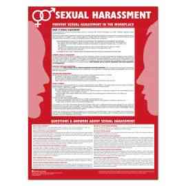 Sexual Harassment Poster