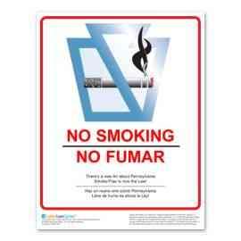 Pennsylvania No Smoking Poster