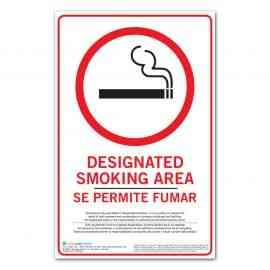 Smoking Permitted Poster