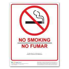 Wisconsin No Smoking Poster