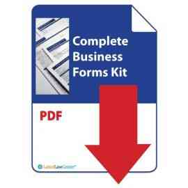 Complete Business Forms Kit