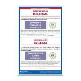 Miami Beach City Discrimination Poster