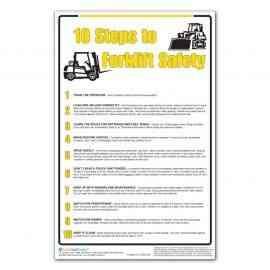 10 Steps to Forklift Safety
