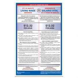 Santa Fe City Minimum Wage Poster