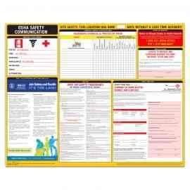 2021 OSHA Safety Communication Poster