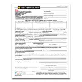 District of Columbia First Report of Injury Form