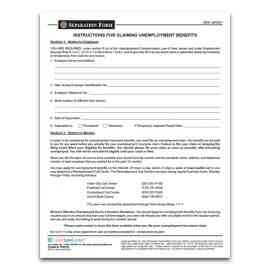 New Jersey Separation Form