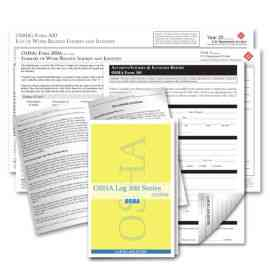 OSHA Log Series 300 System