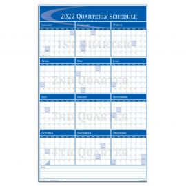 Quarterly - Vertical Wall Calendar