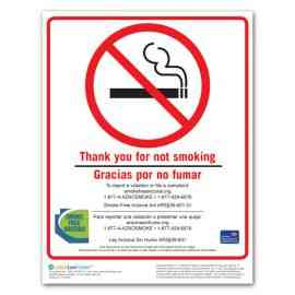 Arizona No Smoking Poster
