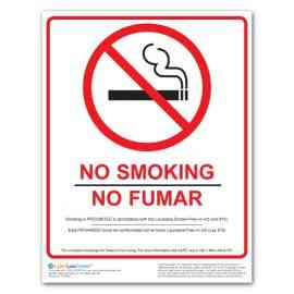 Louisiana No Smoking Poster