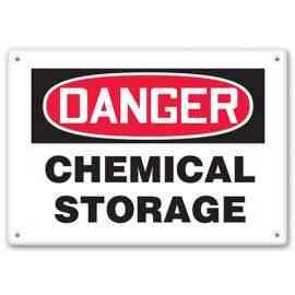DANGER - Chemical Storage
