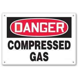 DANGER - Compressed Gas