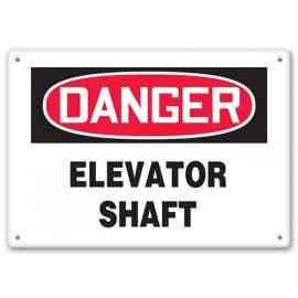 DANGER - Elevator Shaft