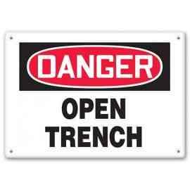 DANGER - Open Trench