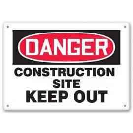DANGER - Construction Site - Keep Out