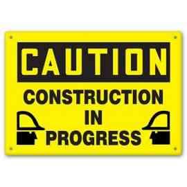 CAUTION - Construction In Progress