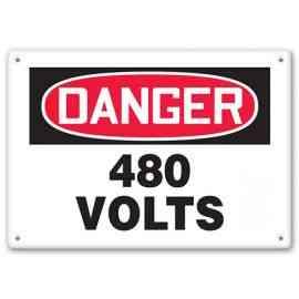 DANGER - 480 Volts