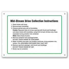 Mid-Stream Urine Collection Instructions