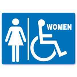 Handicapped Accessible Women Restroom