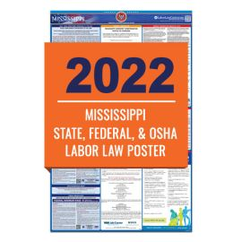 Mississippi Labor Law Poster