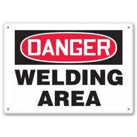 DANGER - Welding Area