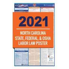 North Carolina Labor Law Poster
