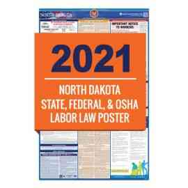 North Dakota Labor Law Poster