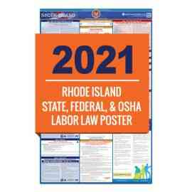 Rhode Island Labor Law Poster