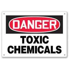 Toxic Chemicals Sign