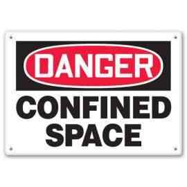 DANGER CONFINED SPACE