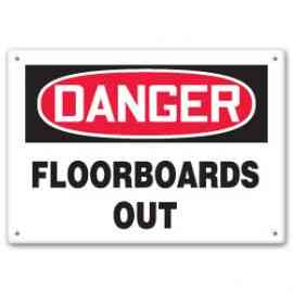 FLOORBOARDS OUT