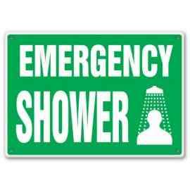 EMERGENCY SHOWER (W/GRAPHIC)