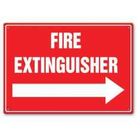 FIRE EXTINGUISHER (ARROW RIGHT)
