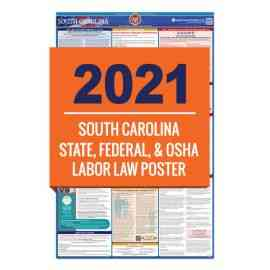 South Carolina Labor Law Poster