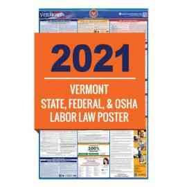 Vermont Labor Law Poster