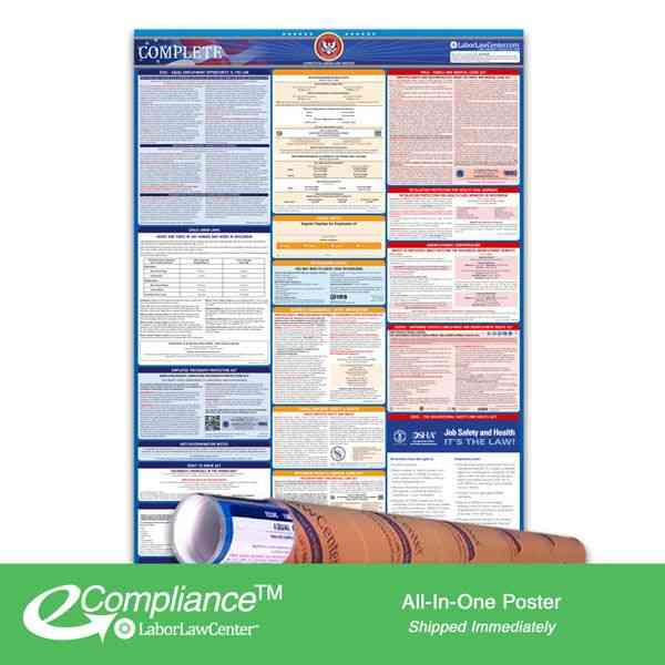 2019 Arkansas All In One Labor Law Posters for Workplace Compliance