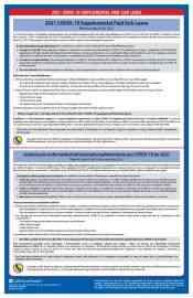 California 2021 COVID-19 Supplemental Paid Sick Leave