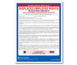 Discplaced Employee Rights Notice