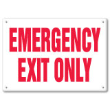 Fire & Emergency Signs