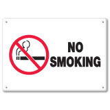 Industrial Equipment/Entrance/Smoking Signs