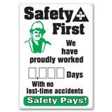 OSHA & Safety Motivational Signs