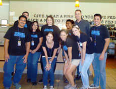 LaborLawCenter crew at OC Rescue Mission
