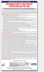 2018 2019 michigan labor law poster all in one laminated poster. Black Bedroom Furniture Sets. Home Design Ideas